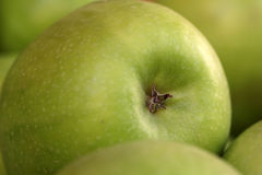 Big green apple Royalty Free Stock Photo