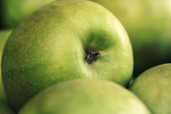 Big green apple Stock Photography