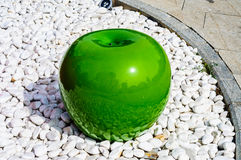 Big Green Apple Royalty Free Stock Image