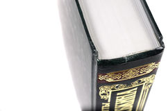 Big green book. Royalty Free Stock Photo