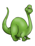 Big green Dinosaur Stock Image
