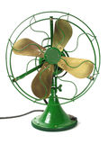 The Big Green Fan Royalty Free Stock Photo