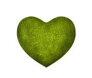 Big green heart Stock Photos