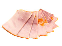 Big group of thinly sliced meat Royalty Free Stock Photo