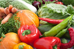 Big group of vegetables Royalty Free Stock Photography