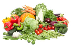 Big group of vegetables Stock Image