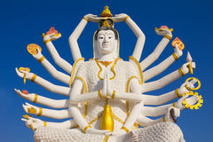 Big Guan Yin statue Royalty Free Stock Image