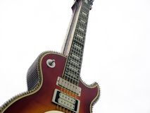 Big guitar Royalty Free Stock Image