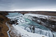 Big Gullfoss Stock Photography