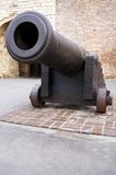 Big gun. Very old gun in the park Kalemegdan in Belgrade Stock Photography