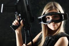 Big gun Royalty Free Stock Photo
