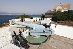 Big gun in Gibraltar Stock Photo