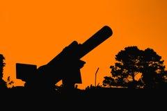 Big gun Royalty Free Stock Image