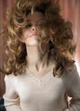 Big Hair Royalty Free Stock Photo