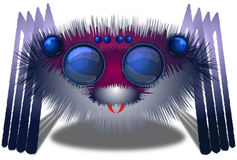 Big Hairy Spider Stock Images