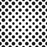 Big halftone circles vector seamless pattern. Halftone dots. Big halftone circles vector seamless pattern. Abstract dotted geometric texture with different dots Stock Photography