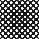 Big halftone circles vector seamless pattern. Halftone dots. Big halftone circles vector seamless pattern. Abstract geometric texture with dots in concentric Stock Photo