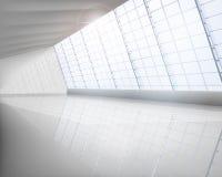 Big hall. Empty big hall. Vector illustration vector illustration