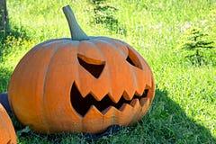 Big Halloween pumpkin Royalty Free Stock Photos