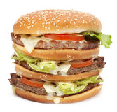 Big hamburger Royalty Free Stock Images
