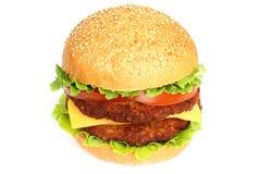 Big hamburger Royalty Free Stock Images