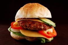 Big hamburger royalty free stock photos
