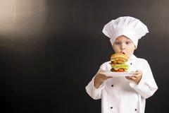 Big hamburger Royalty Free Stock Photography