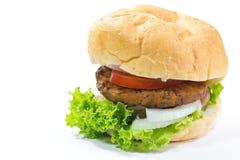 Big hamburger isolated Royalty Free Stock Photos