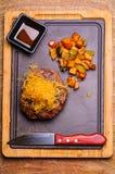 Big hamburger Royalty Free Stock Photo