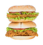 Big hamburger Royalty Free Stock Photography