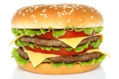 Big hamburger Royalty Free Stock Image