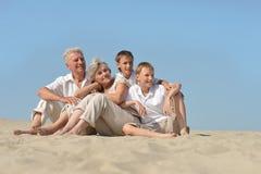 Big happy family Royalty Free Stock Image