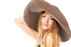 Big hat Royalty Free Stock Images