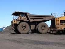 Big Haul Truck Stock Photo