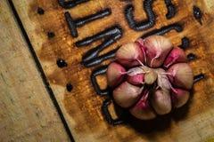Big Head of Garlic Royalty Free Stock Images