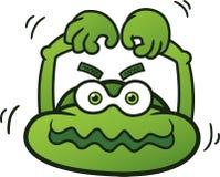 Big Head Monster Cartoon Character Royalty Free Stock Photos