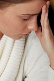 Big headache Royalty Free Stock Images
