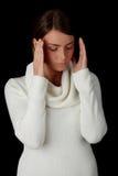 Big headache Stock Photography