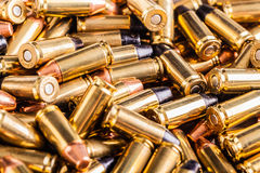 Big heap of ammo Stock Image