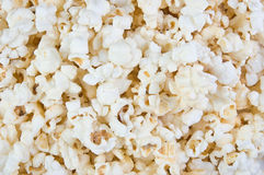 Big heap of salty popcorn. Stock Image