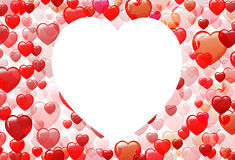 Big heart Royalty Free Stock Photos