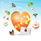 Big heart Stock Photos