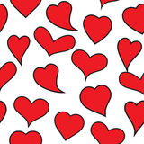 Big heart collection Stock Image