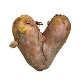 Big Heart Potato Royalty Free Stock Photo