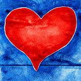 Big heart. Stock Photo
