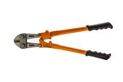 Big heavy duty bolt cutters. Royalty Free Stock Photo