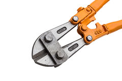 Big heavy duty bolt cutters. Royalty Free Stock Photography