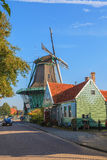 Big historic windmill in The Netherlands Royalty Free Stock Image