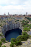 The Big Hole  in Kimberley, South Africa Stock Images