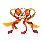 Big holiday bow Royalty Free Stock Images